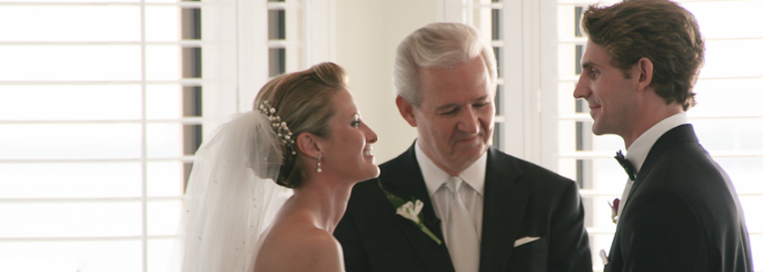Choosing a Wedding Officiant Feature